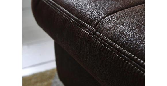 WOHNLANDSCHAFT in Textil Braun - Eichefarben/Beige, Natur, Textil (243/342/185cm) - Voleo