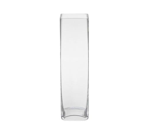 VÁZA, čiré - čiré, Basics, sklo (8/30/8cm) - Ambia Home