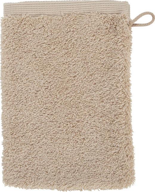 WASCHHANDSCHUH  Hellbraun - Hellbraun, KONVENTIONELL, Textil (22/16cm) - Vossen
