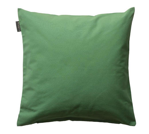 KISSENHÜLLE - Grün, Basics, Textil (50/50cm) - Linum