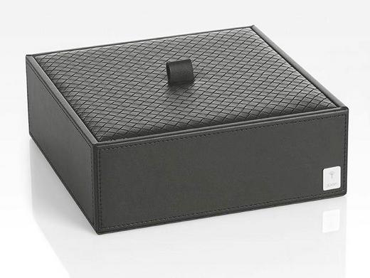 BOX MIT DECKEL - Schwarz, Design (20,5/7,5/20,5cm) - Joop!