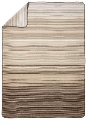 PLÄD - beige/vit, Klassisk, textil (150/200cm) - Novel
