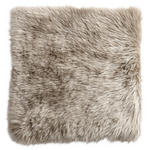 SITZKISSEN Taupe 34/34 cm  - Taupe, KONVENTIONELL, Textil/Fell (34/34cm) - Esposa