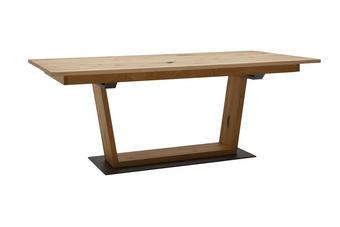 JÍDELNÍ STŮL, dýha, divoký dub, barvy dubu - barvy dubu, Natur, dřevo/dřevěný materiál (200/100/76,5cm) - Voglauer