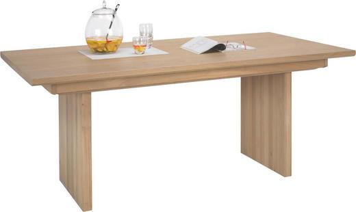 ESSTISCH Wildeiche massiv, mehrschichtige Massivholzplatte (Tischlerplatte) rechteckig Eichefarben - Eichefarben, Design, Holz (160/76.5/100cm) - Voglauer