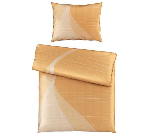 BETTWÄSCHE 140/200 cm - Orange, Design, Textil (140/200cm) - Novel
