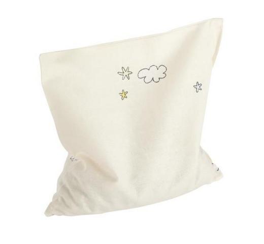 KIRSCHKERNKISSEN - Beige, Basics, Textil (19/19cm) - Sonne