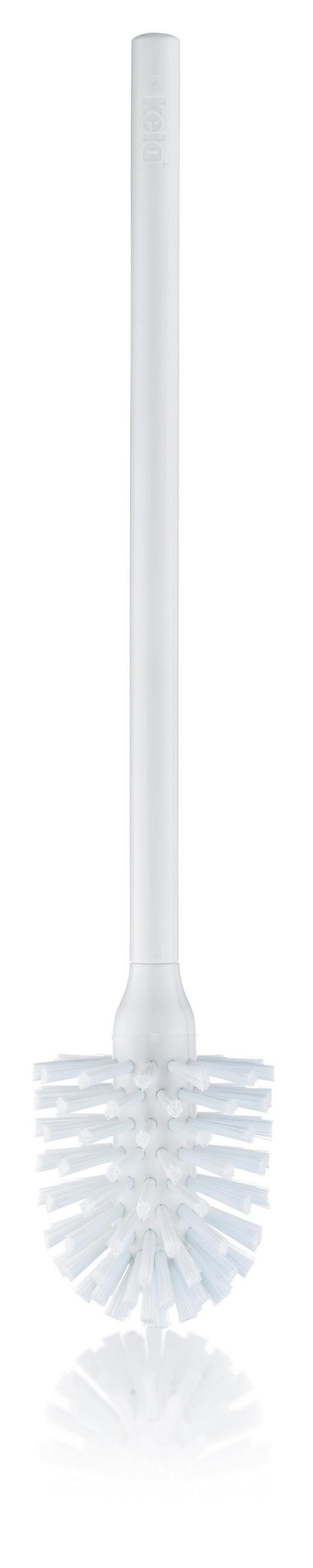 WC-BÜRSTE - Weiß, Basics, Kunststoff (8/42,5cm)