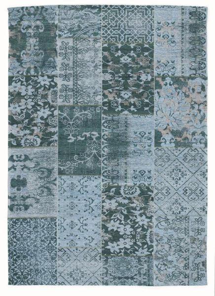 FLACHWEBETEPPICH  40/60 cm  Türkis - Türkis, Basics, Textil (40/60cm) - Novel