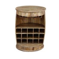 BAR - prirodne boje, Design, drvo (65/88/65cm) - Ambia Home