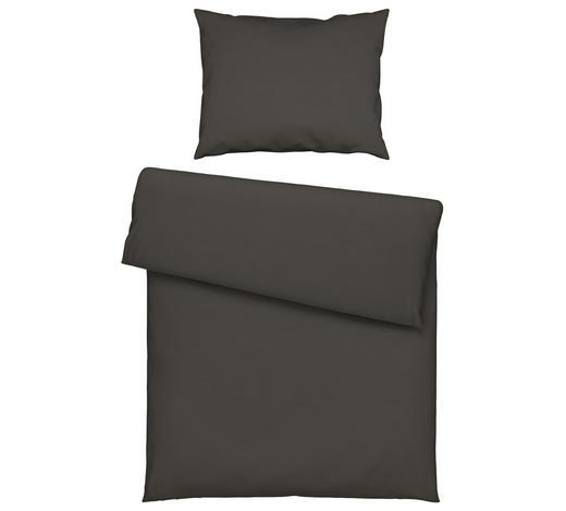 BETTWÄSCHE 140/200 cm  - Anthrazit, KONVENTIONELL, Textil (140/200cm) - Bio:Vio