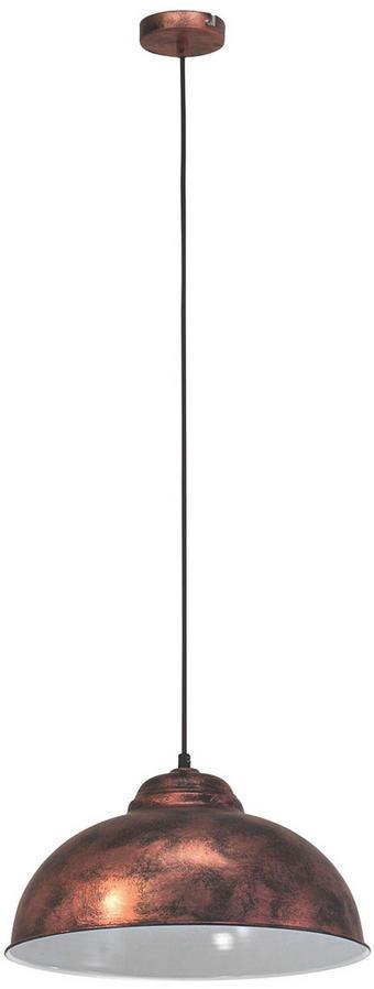 HÄNGELEUCHTE - Kupferfarben, LIFESTYLE, Metall (37/110cm) - Marama