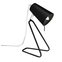 LAMPA STOLNÍ - černá, Konvenční, kov (20/12/32cm) - Boxxx