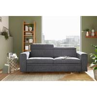 TROSJED NA RAZVLAČENJE - tamno siva/crna, Konvencionalno, tekstil/plastika (206/83-100/100cm) - Venda
