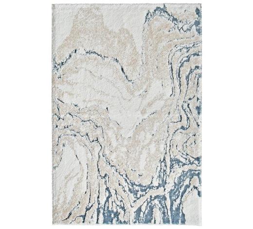 BADTEPPICH  Blau  60/90 cm - Blau, Trend, Kunststoff/Textil (60/90cm)