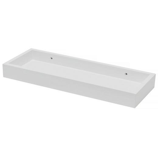 WANDBOARD Weiß - Weiß, Basics (40/4/15cm)