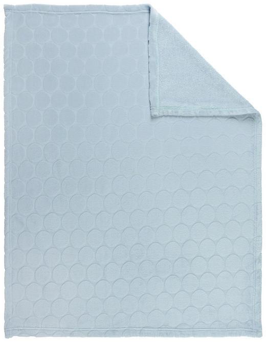 SCHMUSEDECKE 75/100 cm - Blau, Basics, Textil (75/100cm) - My Baby Lou