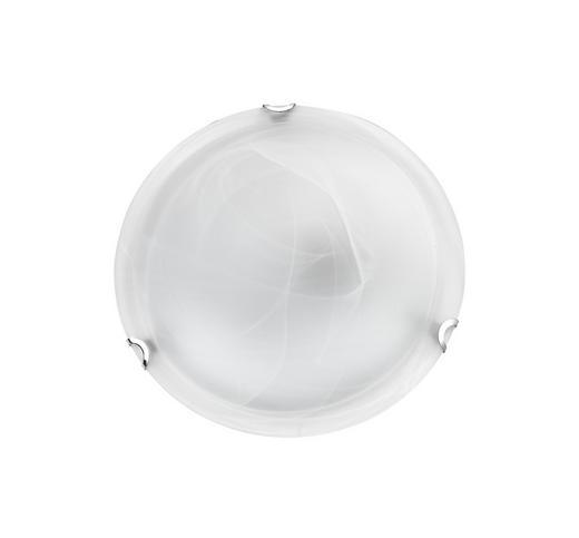 DECKENLEUCHTE - Weiß, LIFESTYLE, Glas/Metall (34cm) - BOXXX