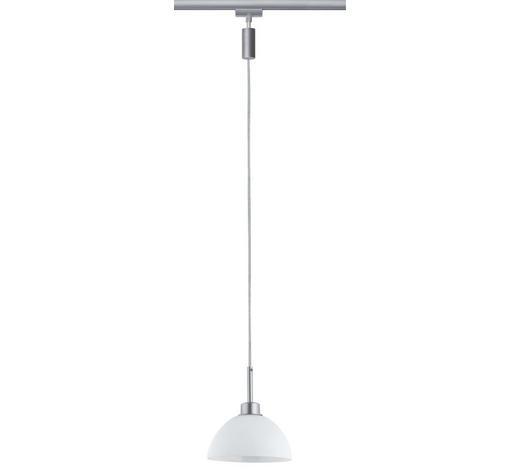 URAIL SCHIENENS.-HÄNGELEUCHTE   - Chromfarben, Design, Glas/Metall (135cm)