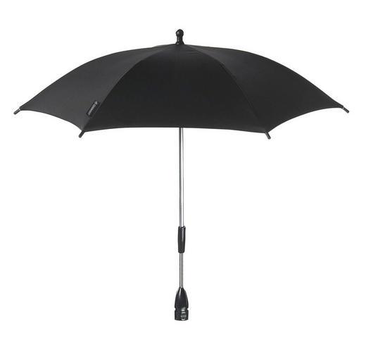 Black Raven  KINDERWAGENSONNENSCHIRM - Schwarz, Basics, Textil/Metall (74/68cm) - Maxi-Cosi