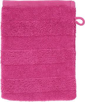 TVÄTTHANDSKE - pink, Natur, textil (16/22cm) - Linea Natura