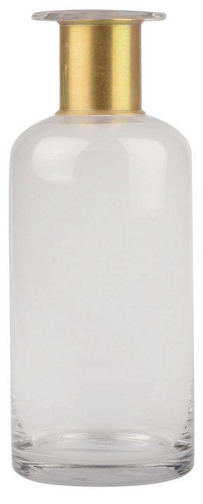 VAS - klar/guldfärgad, Basics, glas (12/30cm)