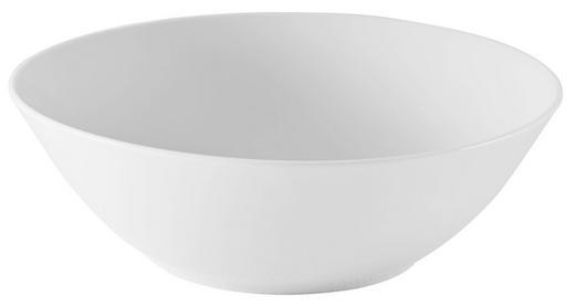 SCHÜSSEL Keramik Porzellan - Weiß, Basics, Keramik (20cm) - Seltmann Weiden