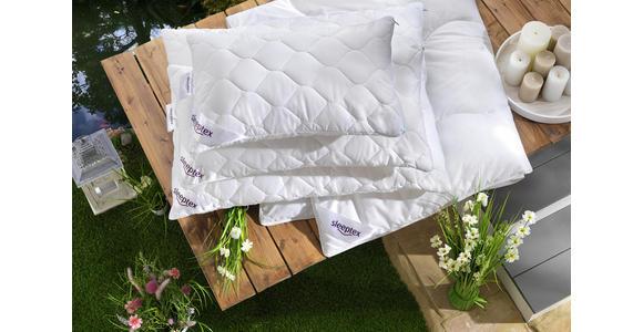 KOPFPOLSTER 40/80 cm   - Weiß, Basics, Textil (40/80cm) - Sleeptex