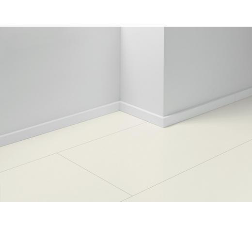 SOCKELLEISTE Weiß - Weiß, Basics, Holzwerkstoff (257/1,6/4cm) - Parador