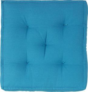 SITTDYNA - blå, Basics, textil (40/40/10cm) - Boxxx