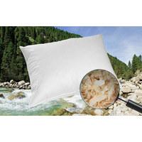 ZIRBENKISSEN 40/60 cm - Weiß, Natur, Textil (40/60cm) - Sleeptex