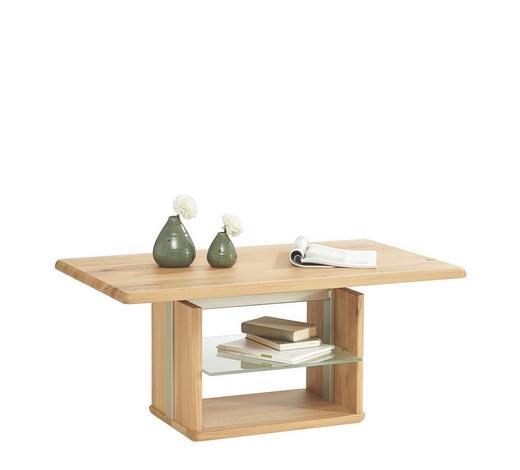 Couchtisch In Glas Holz Metall 110 65 50 69 Cm Online Kaufen