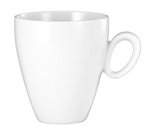 KAFFEEBECHER - Weiß, Basics, Keramik (0,30l) - Seltmann Weiden