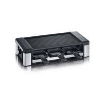 RACLETTE GRILL RG 2676 - Schwarz, KONVENTIONELL, Metall (44,5/13,5/24,2cm) - Severin