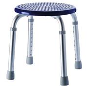 DUSCHHOCKER Metall, Kunststoff - Blau/Grau, Basics, Kunststoff/Metall (32/35-53cm)