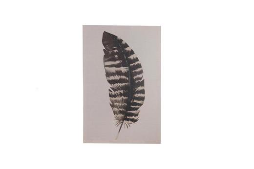 BILD - Dunkelbraun, Natur, Holz/Textil (38/58cm)