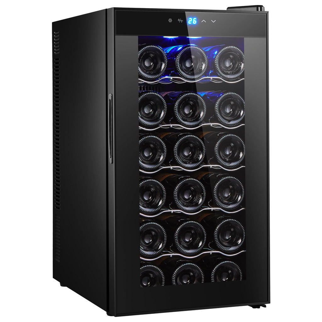 Chladnička Na Víno - černá