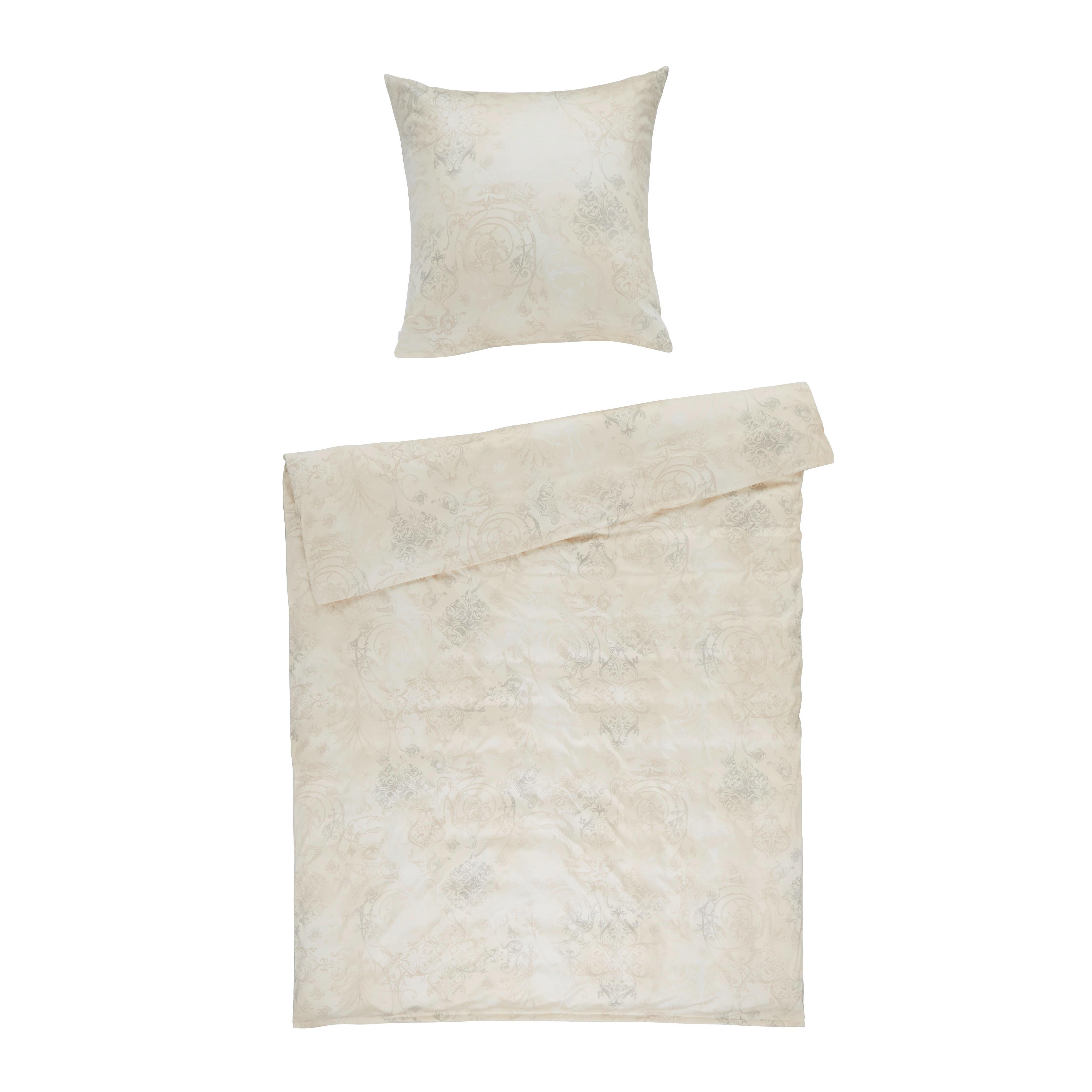 BETTWÄSCHE Jersey Sandfarben 155/220 cm - Sandfarben, Basics, Textil (155/220cm) - ESTELLA