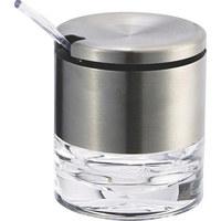 ZUCKERDOSE Metall, Kunststoff  - Basics, Kunststoff/Metall (0,15l) - Emsa