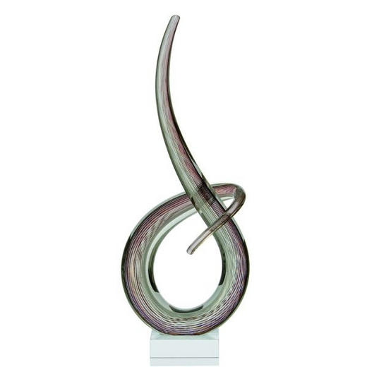 SKULPTUR - Multicolor, Glas (20/50/10cm) - LEONARDO