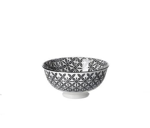 SCHALE 12 cm - Schwarz/Weiß, Trend, Keramik (12cm) - Ritzenhoff Breker