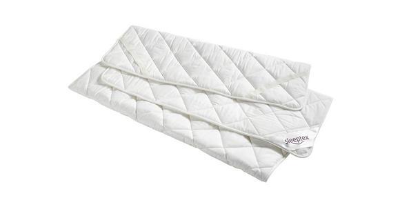 UNTERBETT 100/200 cm   - Weiß, Basics, Textil (100/200cm) - Sleeptex