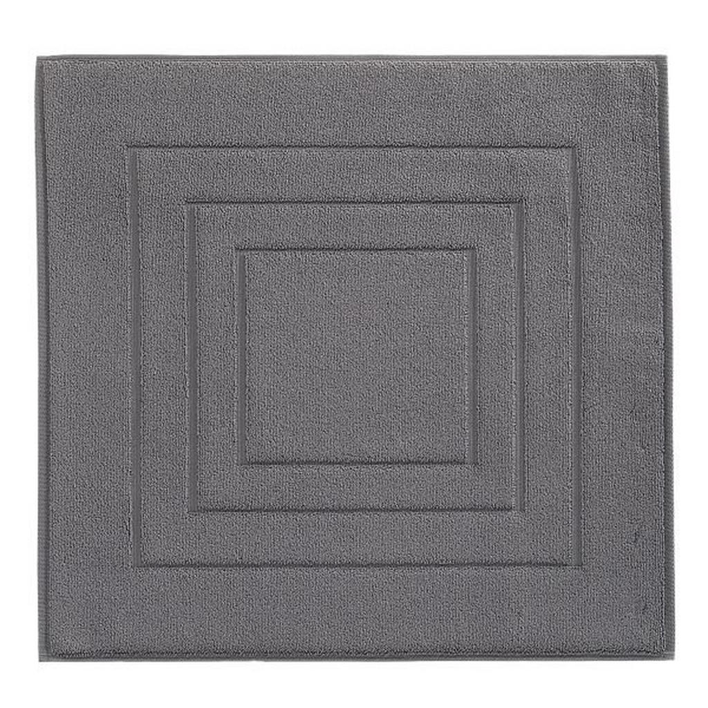 VOSSEN BADEMATTE Grau 60/60 cm