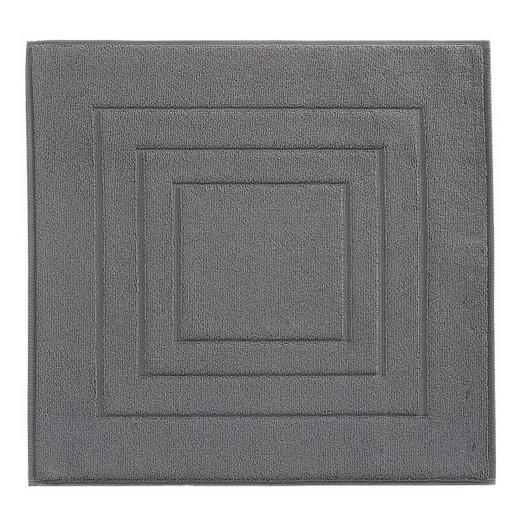 BADEMATTE  Dunkelgrau  60/60 cm - Dunkelgrau, Basics, Textil (60/60cm) - VOSSEN