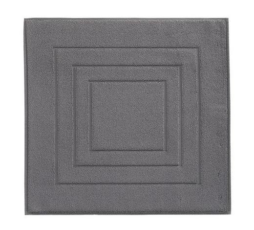 PŘEDLOŽKA KOUPELNOVÁ, 60/60 cm, tmavě šedá - tmavě šedá, Basics, textil (60/60cm) - Vossen