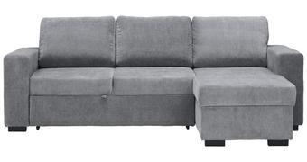 SEDACÍ SOUPRAVA, šedá, textil - šedá/černá, Design, textil/umělá hmota (244/162cm) - Carryhome