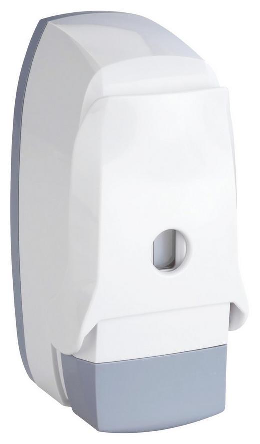 SEIFENSPENDER - Weiß/Grau, Basics, Kunststoff (9,5/20,5/10,5cm)