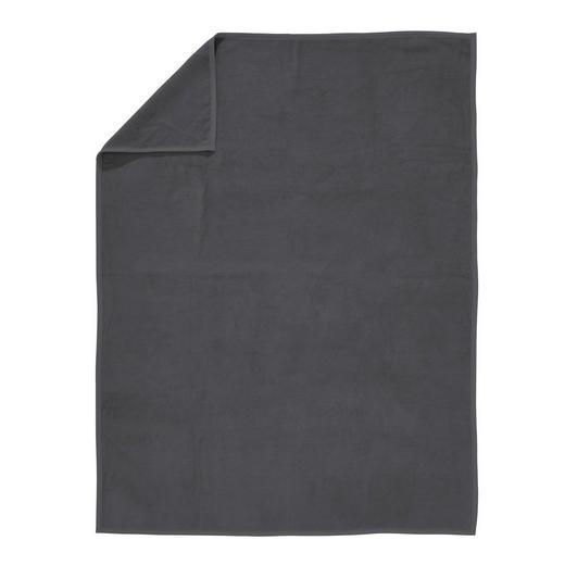 WOHNDECKE - Dunkelgrau, Basics, Textil (150/200cm) - Novel