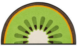 FUßMATTE 50/85 cm Obst Grün - Grün, Basics, Kunststoff/Textil (50/85cm) - Esposa