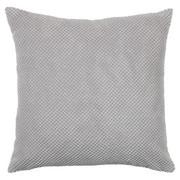 Zierkissen - Silberfarben, Basics, Textil (45/45cm) - Novel